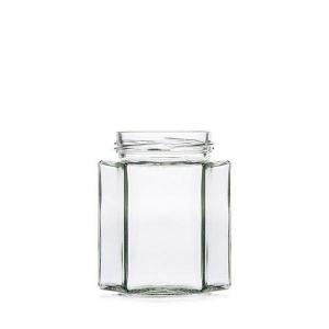 Jar HEXAGONAL 288ml - Jar section - Vitroval.com
