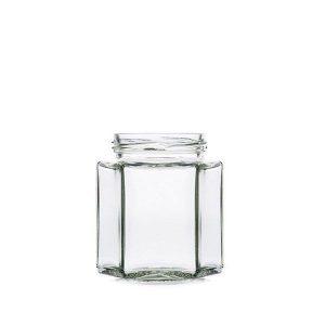 Jar HEXAGONAL 390ml - Jar section - Vitroval.com