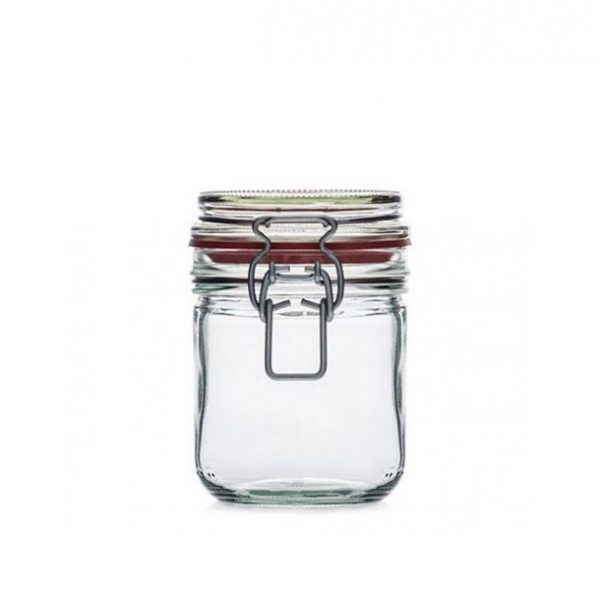 Jar HERMÉTICO REDONDO 400ml - Jar section - Vitroval.com