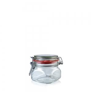 Jar HERMÉTICO CUADRADO 314ml -Jar section - Vitroval.com