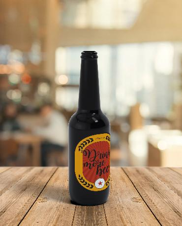 """Cerveza """"Drink more beer"""" - Vitroval.com"""