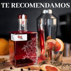 Botella Licor Frasca Cubo